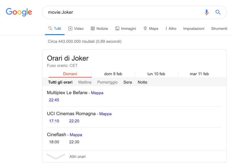Google Search movie